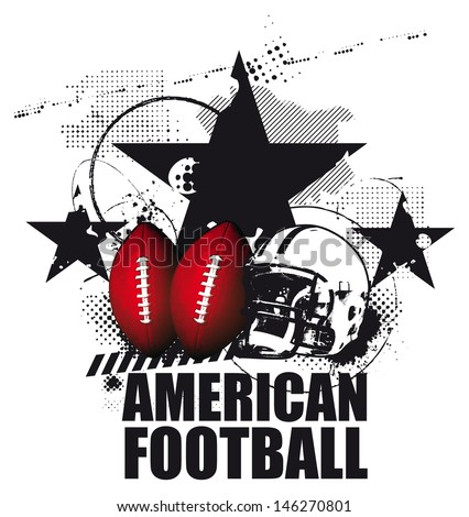grunge american football scene