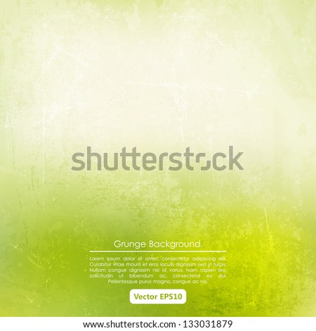 grunge background in green and