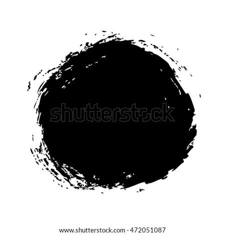 grunge background vector circle texture #472051087