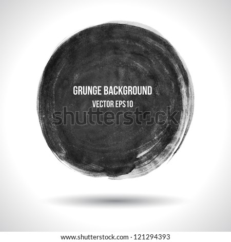 Grunge background. Watercolor background. Retro background. Vintage background. Business background. Abstract background. Hand drawn. Texture background. Abstract shape. Round banner