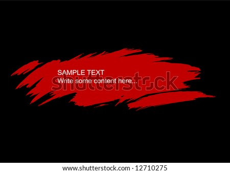 Grunge background with splats and place for your text