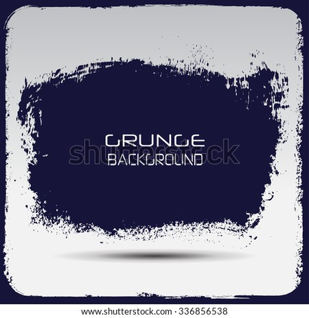 Grunge banner.Grunge background.Abstract vector template. #336856538