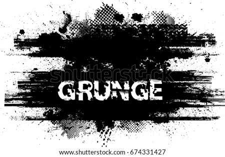 Grunge Banners, Insignias,stamps,Icons, Labels and Badges. Retro shapes for Emblems. Design element. ink brush stroke ,