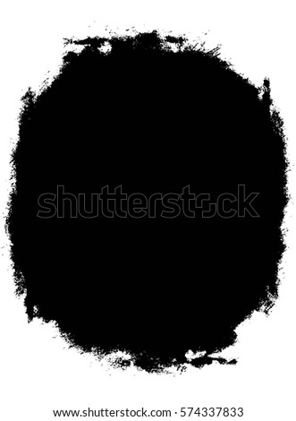 Grunge Black And White Urban Vector Texture Template. Dark Messy Dust Overlay Distress Background. Easy To Create Abstract Dotted, Scratched, Vintage Effect With Noise And Grain.