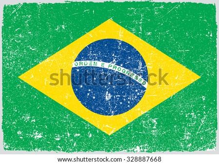 grunge brazil flagbrazilian