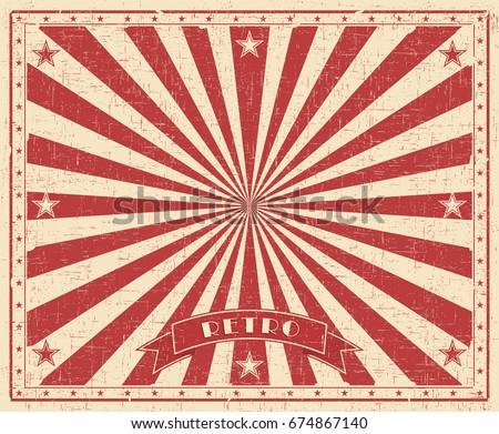 grunge circus vintage ...