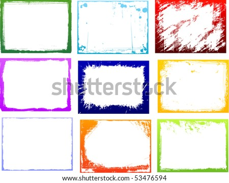 Grunge color backgrounds
