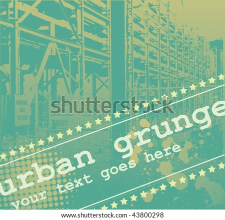 Grunge Design - stock vector