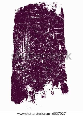 Grunge elements - Large Grunge Square 13 - Highly Detailed vector grunge element - stock vector