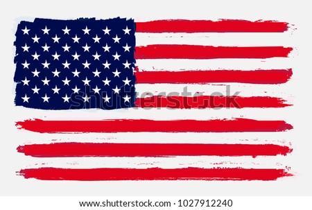us flags vectors download free vector art stock graphics images rh vecteezy com 5.0 Star US Flag Vector Art Checkered Flag Vector