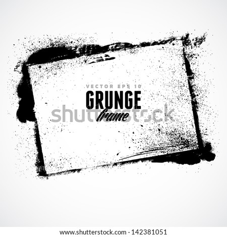 grunge frame for multiple