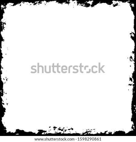 Grunge frame. Grunge background. Grunge border