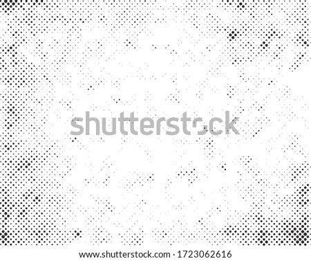 Grunge halftone dots texture background.