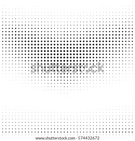Grunge halftone dots. Vector texture. Abstract dotted background