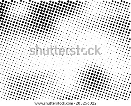 grunge halftone dots vector