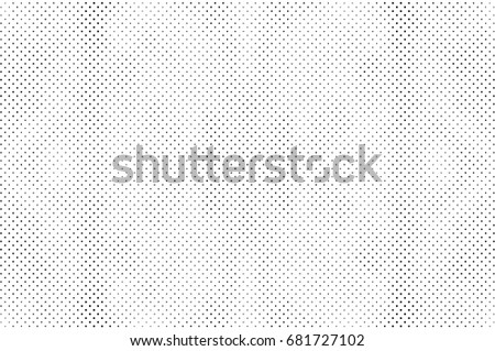 Grunge Halftone Vintage Vector Background Ink Dots Texture Design Element Easy To Create Abstract