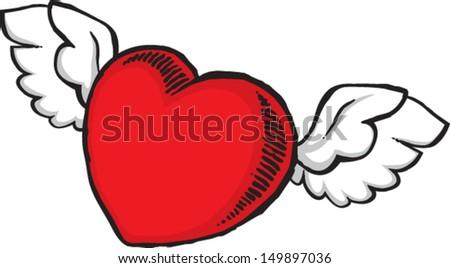 Line Art Love Heart : Heart ribbon love art wallpaper hd desktop background
