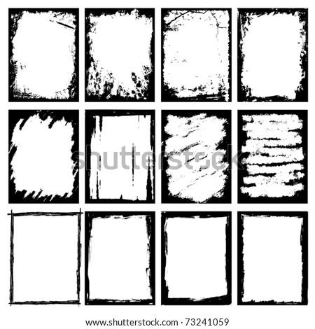Grunge Images frames