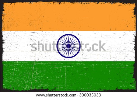 grunge india flagindian flag