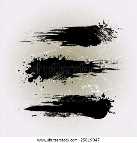 Grunge line brushes 3