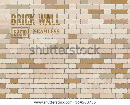 grunge old brick wall seamless