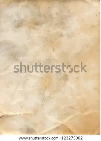 Grunge old paper background.