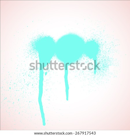 Grunge Paint Spray
