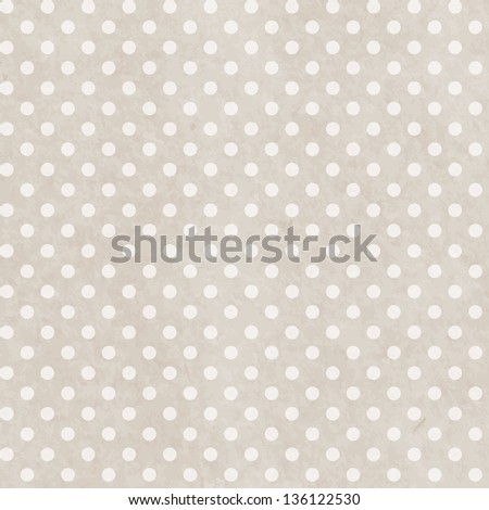 Grunge paper seamless pattern with dots geometric texture