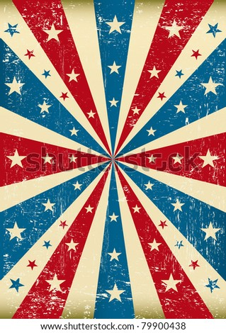 grunge patriotic poster. a new...