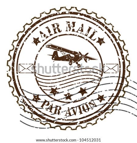 Mail Stamp Vector