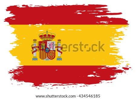 grunge spain flagold spanish
