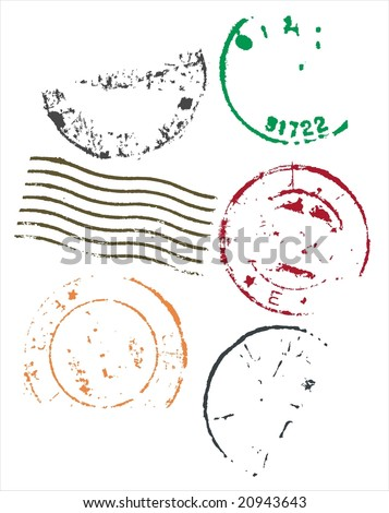 Postage Stamp Outline