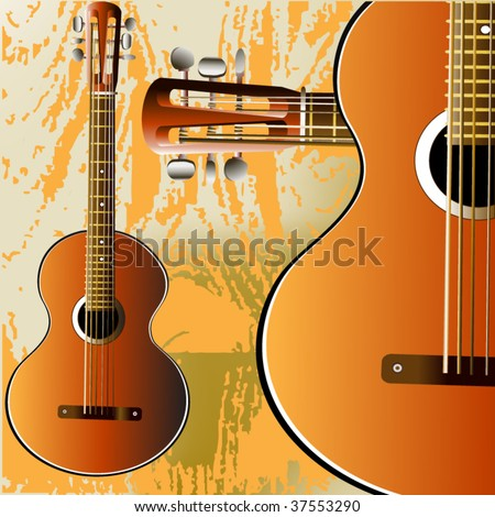 grunge style guitar background