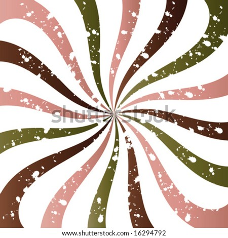 Grunge Swirly Background
