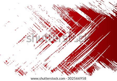 Grunge texture - abstract isolated stock vector template - easy to use