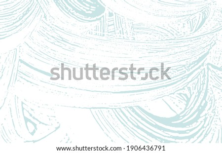 Grunge texture. Distress blue rough trace. Breathtaking background. Noise dirty grunge texture. Unusual artistic surface. Vector illustration.