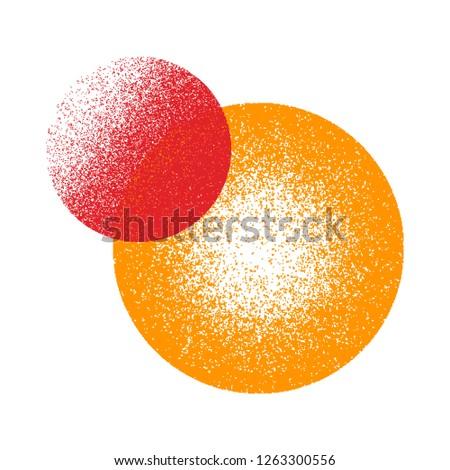 Grunge texture. Grunge background. Vector pattern. Grunge texture circle. #1263300556