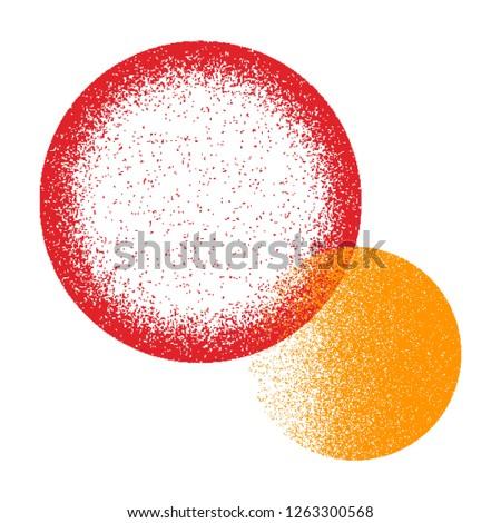 Grunge texture. Grunge background. Vector pattern. Grunge texture circle. #1263300568