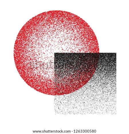 Grunge texture. Grunge background. Vector pattern. Grunge texture circle. #1263300580