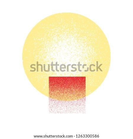 Grunge texture. Grunge background. Vector pattern. Grunge texture circle. #1263300586