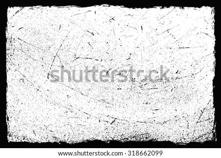 Grunge texture.Grunge frame.Distress background.Vector illustration.