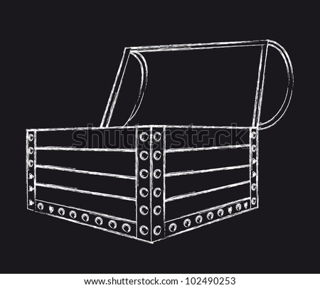 grunge  trunk isolated over white background. vector