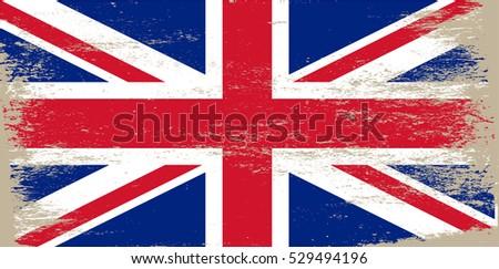 grunge uk flag.vintage great...