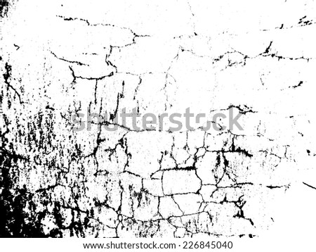Grunge Urban Background.Texture Vector.Dust Overlay Distress Grain ,Simply Place illustration over any Object to Create grungy Effect .abstract,splattered , dirty,poster for your design.  #226845040