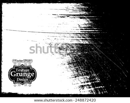 Grunge Urban Background.Texture Vector.Dust Overlay Distress Grain ,Simply Place illustration over any Object to Create grungy Effect .abstract,splattered , dirty,poster for your design. #248872420