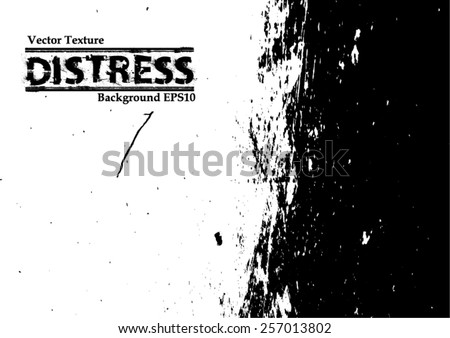 Grunge Urban Background.Texture Vector.Dust Overlay Distress Grain ,Simply Place illustration over any Object to Create grungy Effect .abstract,splattered , dirty,poster for your design. #257013802