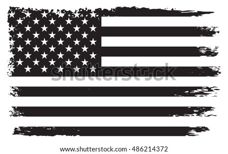 grunge american flag background - download free vector art, stock