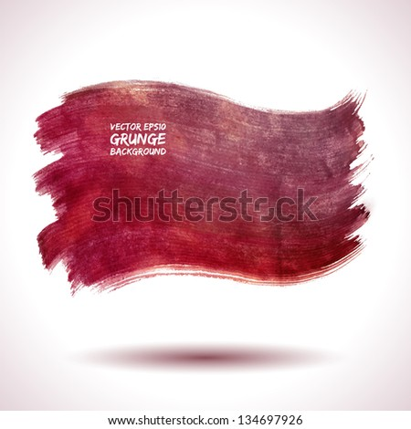 grunge vector background watercolor retro vintage business abstract red texture shape