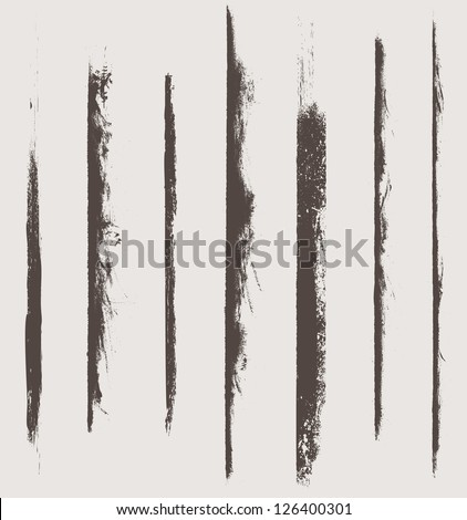 grunge vector elements and brushes