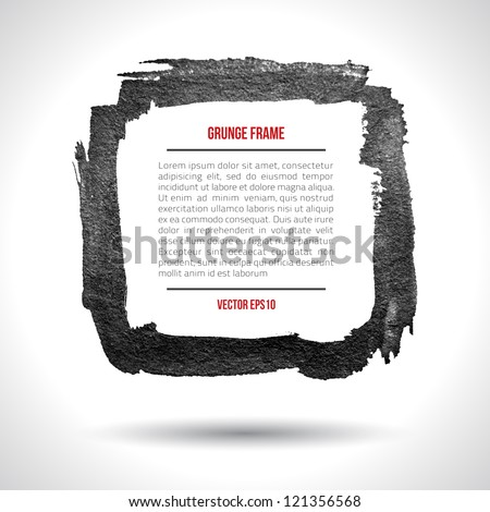 Grunge vector frame. Grunge background. Watercolor background. Retro background. Vintage background. Business background. Abstract background. Hand drawn. Texture background. Abstract shape